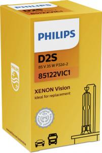 PHILIPS Xenon Vision D2S 35W 85122VIC1