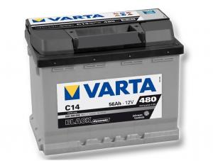 Varta Black dynamic 56Ah, 12V, C14